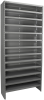 Shelving, Enclosed Steel Shelving Kit, No Bins -- ASC1879 - Image