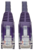 Cat6 Gigabit Snagless Molded UTP Patch Cable (RJ45 M/M), Purple, 2 ft. -- N201-002-PU