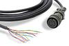 CABLE 10 PIN MS TO PIGTAIL 20ft (6.1m) TRDA-25N SERIES ENCODERS LINE-DRIVER -- TRDA-25CBL-VWD-20 - Image