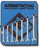 10pc.Full Polish Ratcheting Combo Wrench Set -- 52-667AR - Image