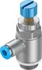 One-way flow control valve -- GRLA-3/8-QS-6-RS-D -Image