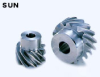 18.38mm PD Stainless Steel Screw Gears -- SUN1-13L - Image