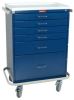 Classic Six Drawer Anesthesia Workstation Key Lock Stan.. -- 6450