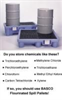 Ultra Fluorinated Poly Spill Pallets -- SP1233