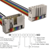 Rectangular Cable Assemblies -- M3DRK-1036R-ND -- View Larger Image