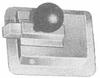 Regular Size Rustproofed Steel Latch with Inside Release -- 5115 - Image