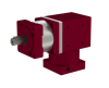Right Angle Gearbox With Inline Planetary Stage -- QLAS