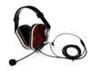 Dual Earmuff, Noise Canceling Boom Microphone -- MIC 036