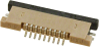 FFC, FPC (Flat Flexible) Connectors -- WM8840TR-ND -Image
