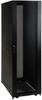 42U SmartRack Standard-Depth Rack Enclosure Cabinet, Threaded 10-32 Mounting Holes with doors & side panels -- SR42UB1032 -- View Larger Image