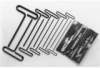 Hex Key Set Metric 5pc 9L