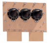 3 Port, Coaxial, Grounded, Building Entrance Panel -- 3PEEP