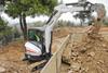 Zero Tail Swing Compact Excavator -- E35