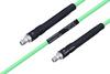 Temperature Conditioned SMA Female to SMA Female Low Loss Cable 72 Inch Length Using PE-P142LL Coax -- PE3M0135-72 -Image