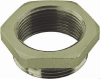 Nickel-Plated Brass PG-Metric Thread Adapter -- 6604815