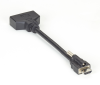 Locking HDMI Cable - Male, to DVI Adapter, Female, 15-cm (6-in.) -- VAL-HDMIDVI