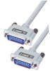 Molded IEEE-488 Cable, Inline/Inline 2.0m -- MGPA00011-2M -Image