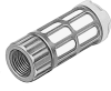 Pneumatic muffler -- U-1/8-I -Image