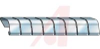 Copper Beryllium Fingerstock EMI Gasket,Adhesive Mount -- 70029307