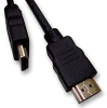 MULTICOMP - MC34945 - HDMI AUDIO/VIDEO CABLE, 2M, 28AWG, BLACK -- 558804