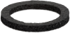 Gasket made from special foam for optimal sealing of structured surfaces DR 28/21x3 C03 EPDM-15 KE -- 10.01.06.01679 -Image