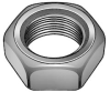 Hex Jam Nut,Thin,Steel,2-12,3 In W -- 1XA63