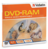 Verbatim DVD-RAM 4.7GB 3X Single-Sided Type 4 Cartridge -- 95002
