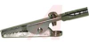 Alligator clip, standard, steel, brighttin, screw, solder or banana plug conn -- 70209833 - Image