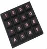 Screen Print, Backlit, Sealed Construction Keypads -- Series 84BL