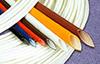 Hi-Temp Flame Retardant Fiberglass Tubing -- CB-SRS