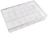 Transparent Plastic Parts Boxes -- 53343 - Image