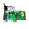 2 Port  PCIe RS232 POS 1A SATA -- PX-805 -- View Larger Image