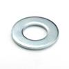 #4 SAE SAE Flat Washer, Zinc -- WSHSAEC004Z - Image