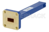 1 Watt Low Power Commercial Grade WR-34 Waveguide Load 22 GHz to 33 GHz, Bronze -- PEWTR1001 - Image