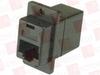L COM ECF504B-8SK ( JUMPER; CONNECTOR TYPE:IN LINE ADAPTER; CONVERT FROM CONNECTOR:RJ45; CONVERT FROM GENDER:JACK; CONVERT FROM POSITIONS:8; CONVERT TO CONNECTOR:RJ45; CO ) -Image