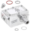 Type N F/F In/Out Coaxial RF Surge Protector, 40MHz - 400MHz, DC Pass, 100W, IP67, 20kA, Hybrid, Bracket Toward Body -- FMSP1015 -- View Larger Image