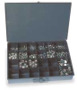 Coupling Nut Assortment,90 Pc,Standard -- 1KYL3