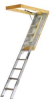 Attic Ladder,Aluminum,22 1/2in x 54in -- AA229GS - Image