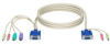 ServSwitch DT Basic with Audio User Cable, 2-ft. (0.6-m) -- EHN70045-0002