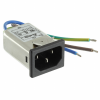 Power Entry Connectors - Inlets, Outlets, Modules -- 03GENW3ES-ND - Image