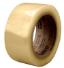 3M Scotch 3073 Clear Standard Box Sealing Tape - 48 mm Width x 100 m Length - 2.6 mil Thick - 92900 -- 051111-92900 - Image