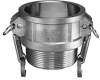 Stainless Steel Part B Female Coupler x Male NPT -Image