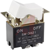 Switch, Rocker/Paddle, DPST, 30 Amp, On-Off Scw -- 70192259 - Image