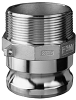 Stainless Steel Part F Male Adapter x Male NPT -Image