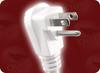 NEMA 5-15P DOWN ANGLE WHITE to NEMA 5-15R x 3 TRIPLE TAP WHITE HOME • Power Cords • North American Power Cords • 3 Conductor Power Cords -- 5533.180 -Image