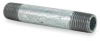 Nipple,2 x 10 In, Galvanized Steel -- 6P881