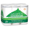 100% Recycled Bathroom Tissue Rolls, 2-Ply, White, 300 Sheet -- 13733 - Image