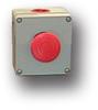 Die-Cast Aluminum One Button Enclosure -- MC-1BS-NC-TTR