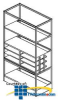 Southwest Data Products File Server Cabinet Frame 84