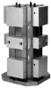4'' ReLock® 8-Station Vise with Machinable Soft Jaws -- RWS4008SJ - Image
